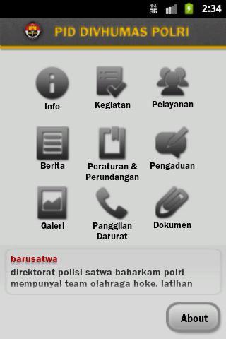 Divisi Humas Mabes POLRI - screenshot