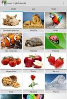 Screenshot of Learn English Words Free