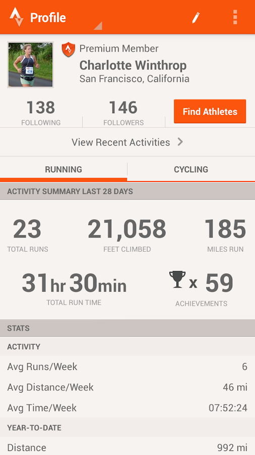 Strava Run GPS Running Tracker - screenshot