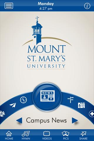 Mount St. Mary's University- screenshot