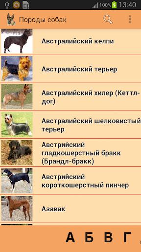 Породы собак Премиум