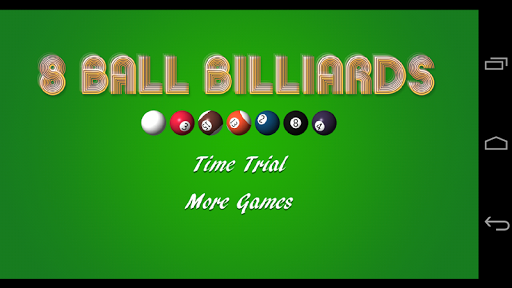 8 Ball Billiards Match 3