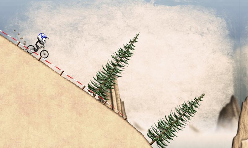 Stickman Downhill screenshot #1