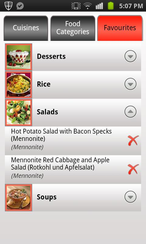 Recipe Guru- screenshot