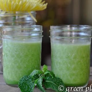 Pineapple Mint Green Smoothie