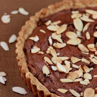 Almond and Chocolate Frangipane Tart.