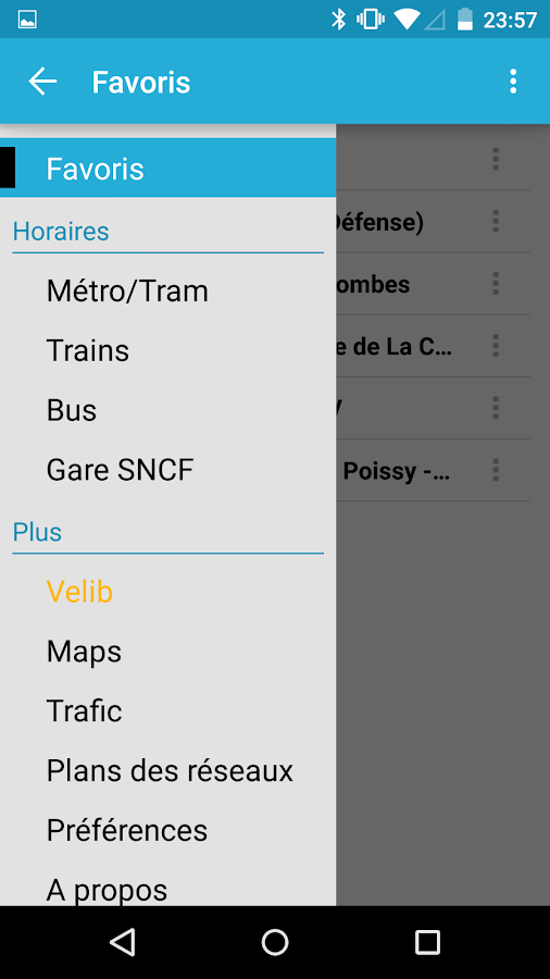 Horaires Me ! (Paris) - screenshot