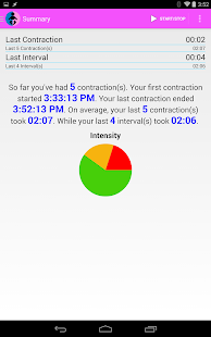 Easy Contraction Timer- screenshot thumbnail
