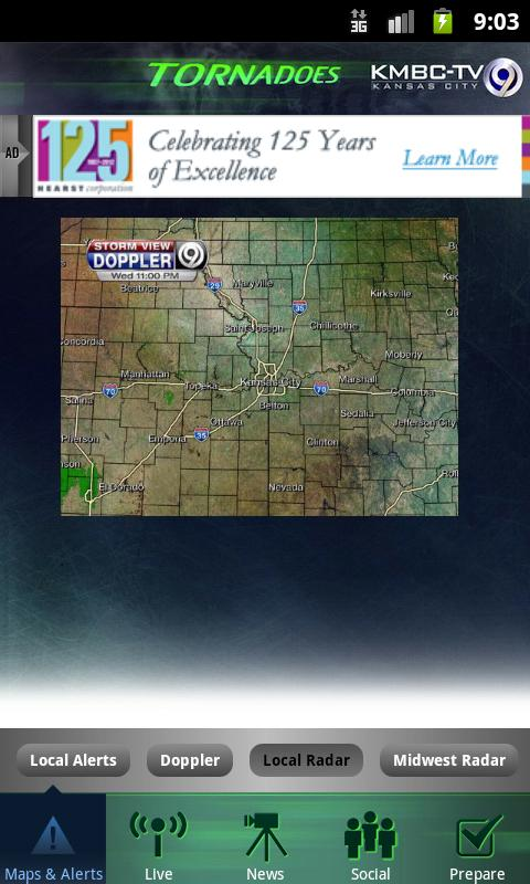 Tornadoes KMBC 9 - Kansas City - screenshot