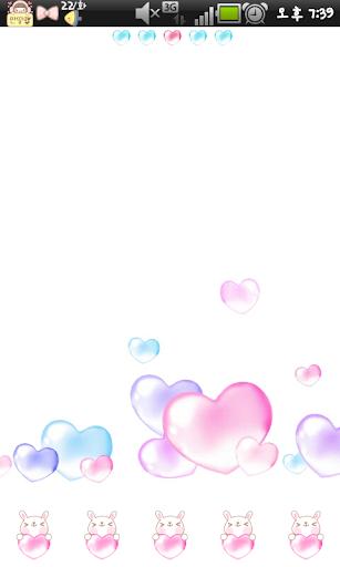 Bebe heart go lokcer theme