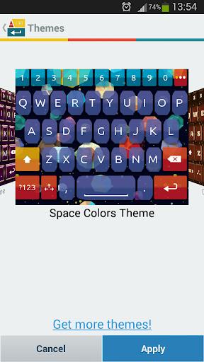 一. 我. 型空间的颜色