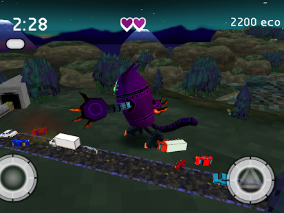 Robocat Rampage- screenshot thumbnail