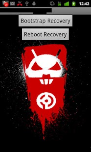 Droid X Recovery Bootstrap - screenshot thumbnail