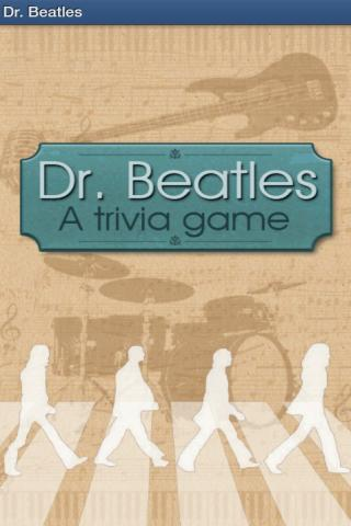 Dr. Beatles - Music Trivia - screenshot