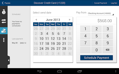 Tyndall e-Banking - screenshot thumbnail
