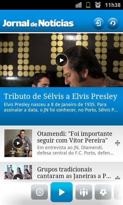 JN - Jornal de Notícias - screenshot