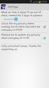 Track My Grocery screenshot 4