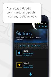 Auri (Voice Reddit and RSS) Screenshot 1