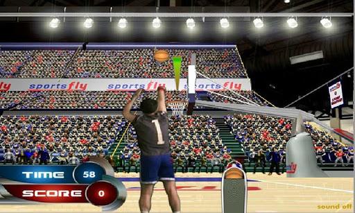 Basketball JAM:3-point Shoot
