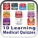 10 Learning Medical Quizzes icon