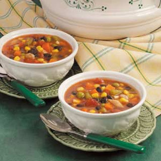 Fast Vegetable Soup.