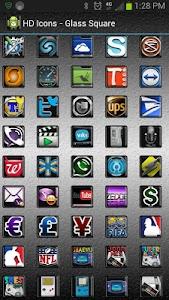 HD Icons: Glass Square v1.0.1