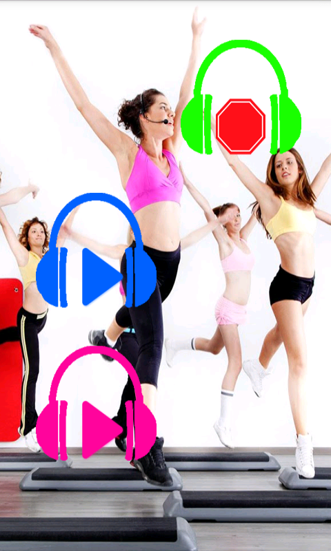Music Aerobics- screenshot