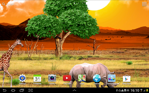 Safari Live Wallpaper