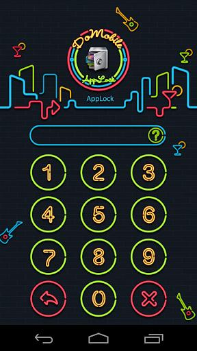 玩免費工具APP|下載AppLock Theme Nightclub app不用錢|硬是要APP