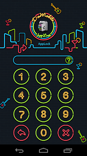 App AppLock Theme Nightclub APK for Windows Phone