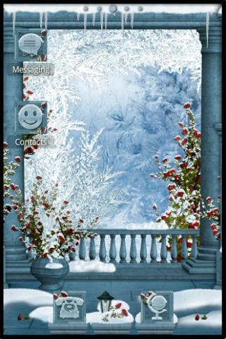 すぐADWTheme冬のパヴァーヌ