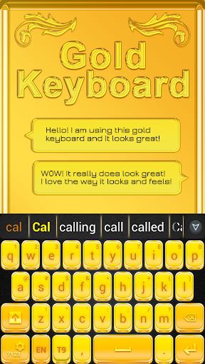 無料个人化AppのGOキーボードゴールド|記事Game