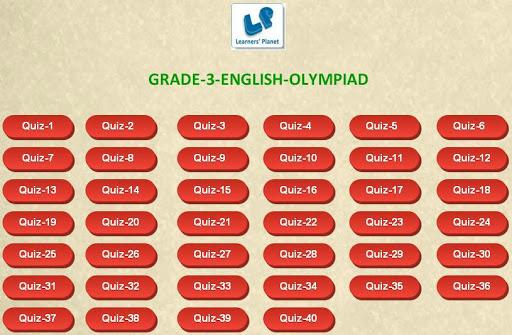 English Olympiad tests Grade-3