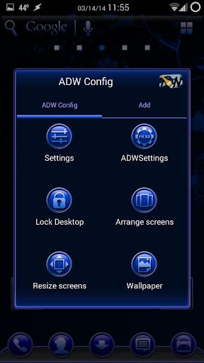 TrueBlue Apex/ADW/Nova 1.1.9 screenshots 5