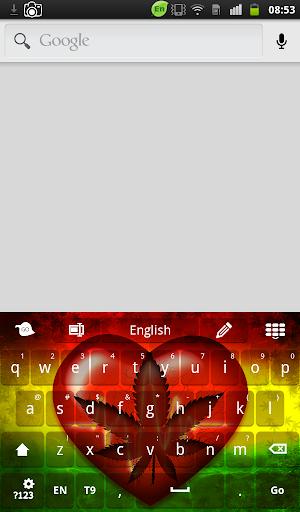 Rasta Heartbeat Keyboard