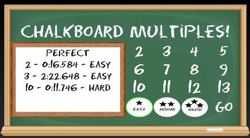 Chalkboard Multiples