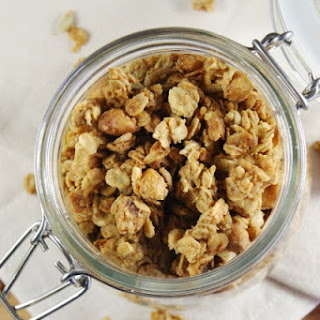 Peanut Butter Granola with Honey-Roasted Peanuts