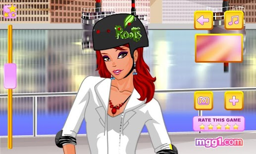 Roller Cutie Dress Up - screenshot thumbnail
