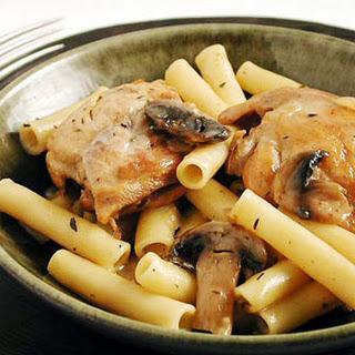 Chicken-Pasta-Mushroom Dish