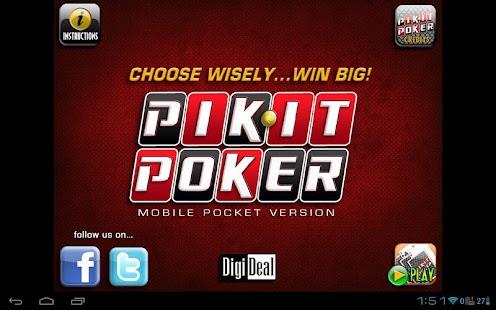 Pocket Pik-It Poker