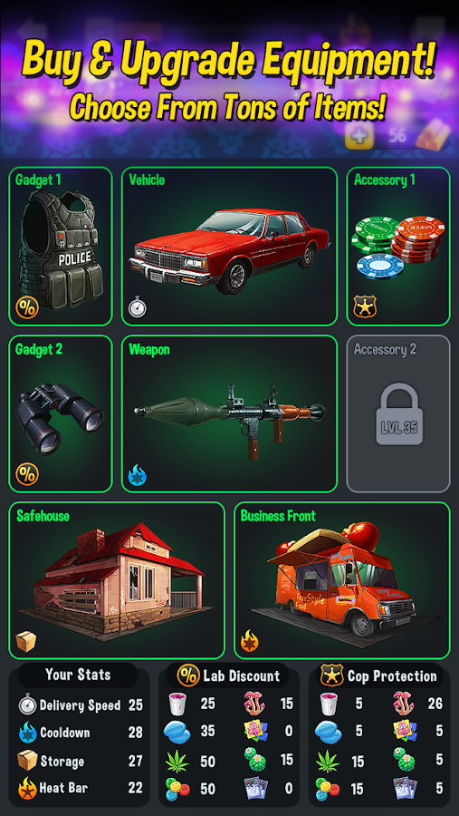 Underworld: Drug Lords- screenshot
