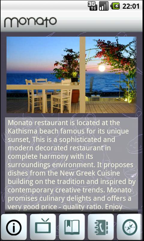 Monato Restaurant- screenshot