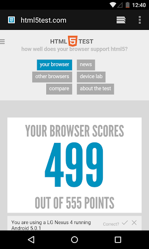 Android System WebView Android App Screenshot