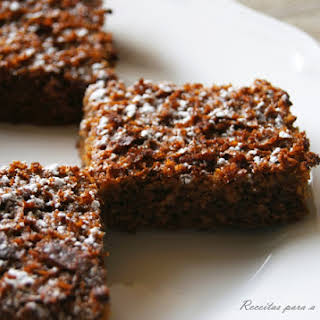 Gluten Free Gingerbread Bars.