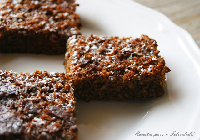 Gluten Free Gingerbread Bars Recipe