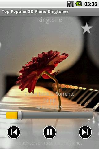 Top Popular 3D Piano Ringtones- screenshot