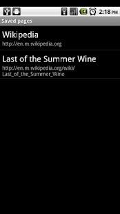 Wikidroid Plus - screenshot thumbnail