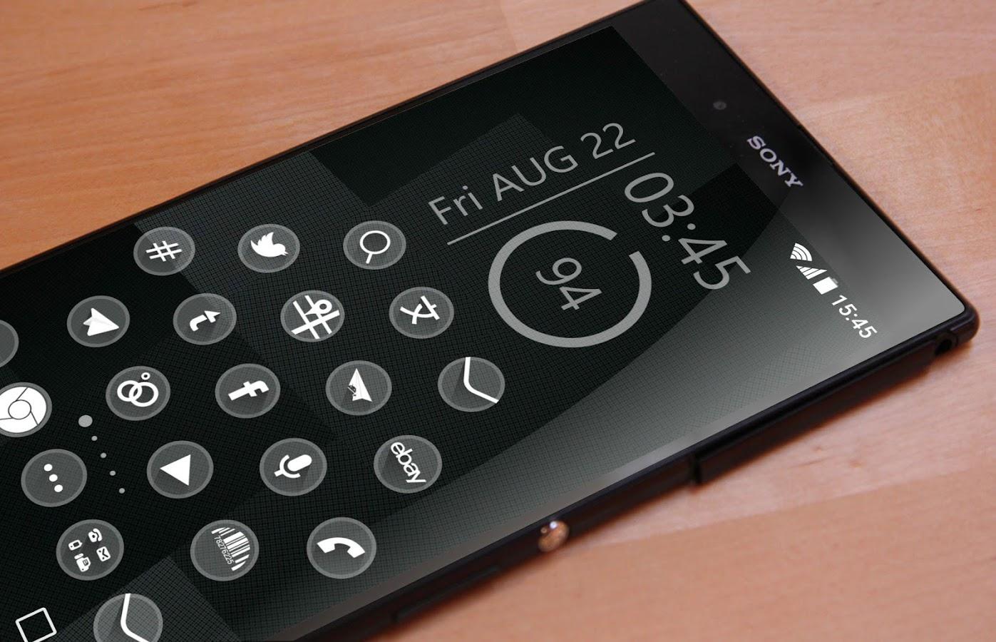 one Theme HD icons Pack Glass - screenshot