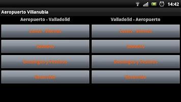Screenshot of Valladolid-Aeropuerto