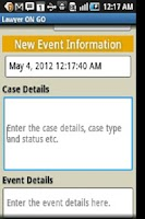 Screenshot of Lawyer ON GO
